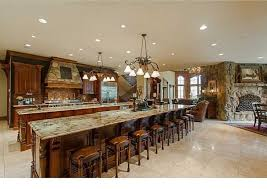 built in kitchen islands with seating large kitchen island 19