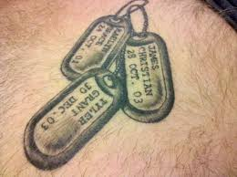 best 25 dog tags tattoo ideas on pinterest grandfather memorial