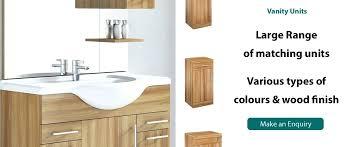 Wooden Vanity Units For Bathrooms Bathroom Wooden Vanity Units Vanity Units Bathroom Cabinets