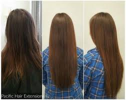 permanent hair extensions semi permanent hair extensions client gallery pacific hair