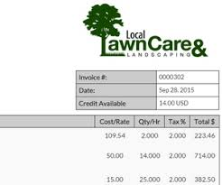 scapersoft  best lawn care management software with invoicing generate invoices based on property time and equipment send  via email with a paypal link from scapersoftcom