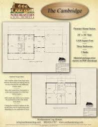 log home floor plans and pricing premier log home series