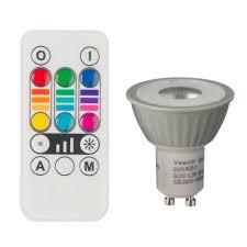 vezzio gu10 mr16 55lm led reflector spot light bulb departments