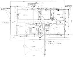 Ranch House Blueprints Unique Ranch House Floor Plans Hahnow