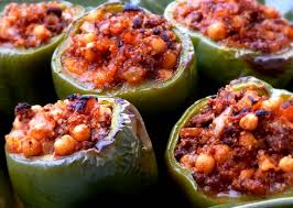 Mediterranean Style Food - beef quinoa stuffed peppers mediterranean style noble pig