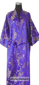 robe de chambre homme luxe collections luxe solde violet hommes en satin de soie robe kimono