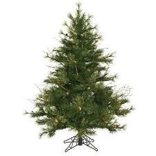 unlit artificial christmas trees artificial christmas tree country pine artificial mixed 4 5ft
