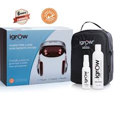 igrow hands free laser hair growth system free gifts