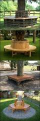 how to build a tree bench tree bench nice place and a tree