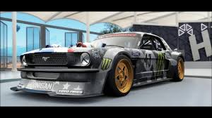 hoonigan mustang forza horizon 3 hoonigan ford hoonicorn mustang youtube