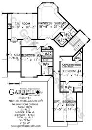 cottage floor plan graystone cottage house plan house plans by garrell associates inc
