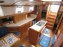 Marine Storage Cabinets Boat Cabinets Cabinets And Compartments Through Forward Salon