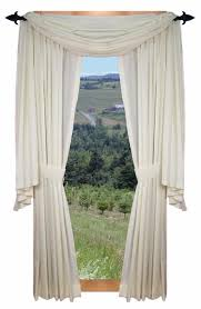 Solid Color Valances For Windows Kerry Solid Color Scarf Valance Window Curtain Window Toppers