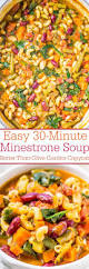 olive garden family meals easy 30 minute minestrone soup better than olive garden copycat