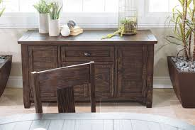 ashley trudell dining room server mathis brothers furniture ashley trudell dining room