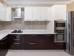kitchen ideas white contemporary kitchen cabinets chocolate brown