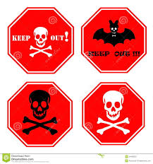 scary halloween signs keep out halloween sign u2013 fun for halloween