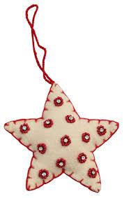 christmas heart ornament u2013 hand beaded red u0026 white hanging