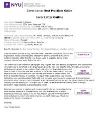 how to write a resume and cover letter for students wasserman cover letter best practices guide nyu wasserman center wasserman cover letter best practices guide pg 1