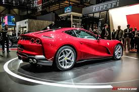 ferrari truck concept meet the ferrari 812 superfast
