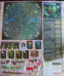 Discworld Map Discworld U2013 Terry Pratchett Tame The Board Game