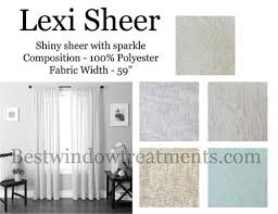 Sheer Gold Curtains Lexi Sheer Curtain Drapery Panels