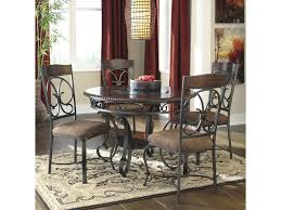 Round Dining Room Tables For 4 by Signature Design By Ashley Glambrey Round Dining Table And 4 Chair