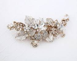 gold and gold bridal hair accessories lynne