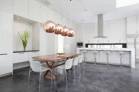 Tom Dixon Copper Pendant Light 12 Rooms With Copper Pendants Design Milk