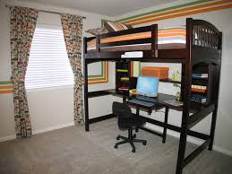 bedrooms kids bed with desk boys bedroom desk toddler computer