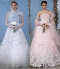 coloured wedding dresses coloured wedding dresses from 2013 catwalks and inspired by