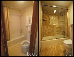 Small Bedroom Decorating Before And After Small Bathroom Remodels Before And After Richvonco Home Regarding