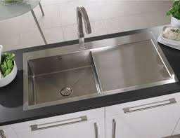 Astracast Vantage  Bowl Brushed Stainless Steel Inset Sink - Brushed stainless steel kitchen sinks