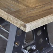 how to protect wood table top finishes vintage industrial furniture
