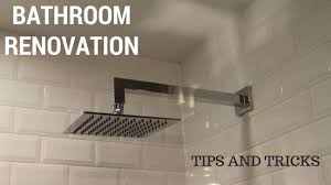 renovation tips bathroom renovation tips tricks youtube