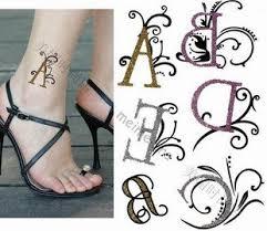 alphabet v tattoo