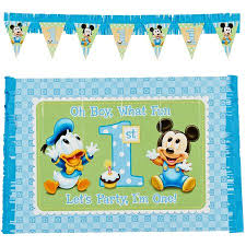mickey mouse 1st birthday mickey mouse birthday high chair decorating kit party