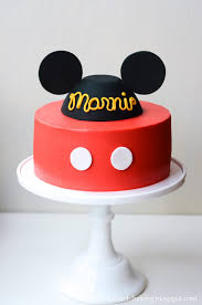 mickey mouse cake i heart baking mickey mouse birthday cake with handmade fondant