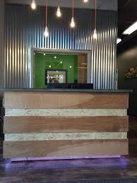 Industrial Reception Desk by Quikserve Offices U2014 R24 Studios