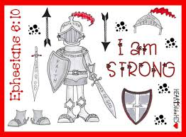 full armour of god stickers love ephesians 6 10 bible