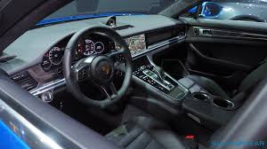 old porsche interior 2017 porsche panamera 4s and turbo every techie u0027s dream car