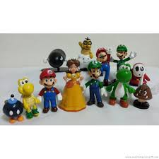 mario cake topper mario bros figurine mario cake topper decoration