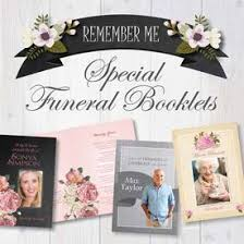 funeral booklets service sheet booklets and stationery for diy funeral planning