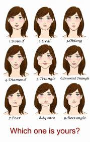 head shapes and hairstyles facts about hairstyles and face shapes hype my hair