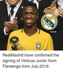 Junior Meme - cbf e transfer talk realmadrid have confirmed the signing of