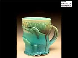 Decorating Porcelain Mugs Handmade Ceramic Mugs Texture Colorful Decorating Picture Set Of