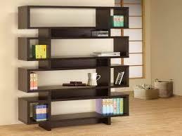 Zen Inspired Home Design Elegant Criss Cross Bookshelf Design In Zen Inspired Interior
