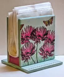 tile coasters using scrapbook paper craft show ideas pinterest