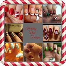 fun and funky holiday nail designs adrian u0027s crazy life