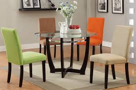 stunning dining room sets with colored chairs pictures home